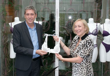 Marjorie and Dirk de Vos, Van der Velde Sales Director