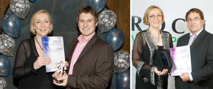 Award for 'Best Independent Retailer' presented to Majorie Thompson 2008 and 2009